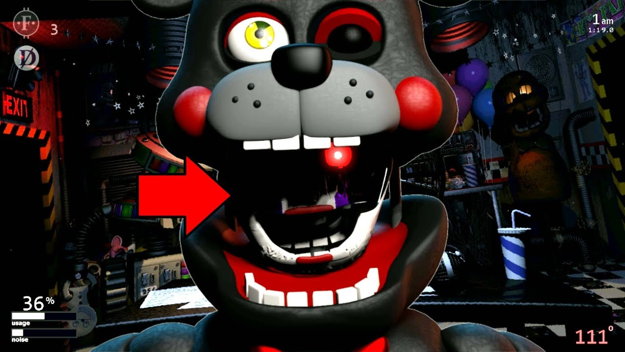 WHO'S INSIDE LEFTY MOUTH?! Ultimate Custom Night