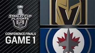 Vegas Golden Knights vs Winnipeg Jets – May. 12, 2018 | Game 1 | Stanley Cup 2018. Обзор
