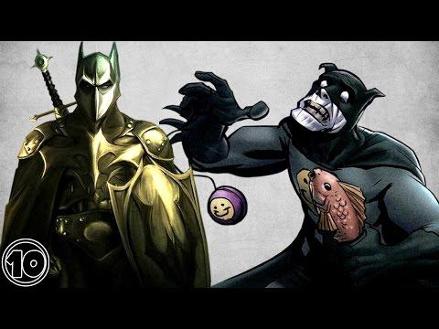 Top 10 Alternate Versions Of Batman - Part 2