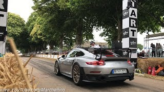 2018 Porsche 991 GT2 RS Exhaust Sound! - Start, Launches & Accelerations