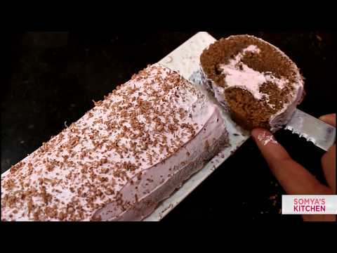 Chocolate Cake Swiss Roll Recipe | Perfect Eggless Cake Recipe