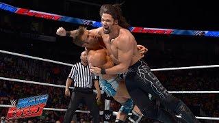 Adam Rose vs. Zack Ryder: WWE Main Event, March 21, 2015