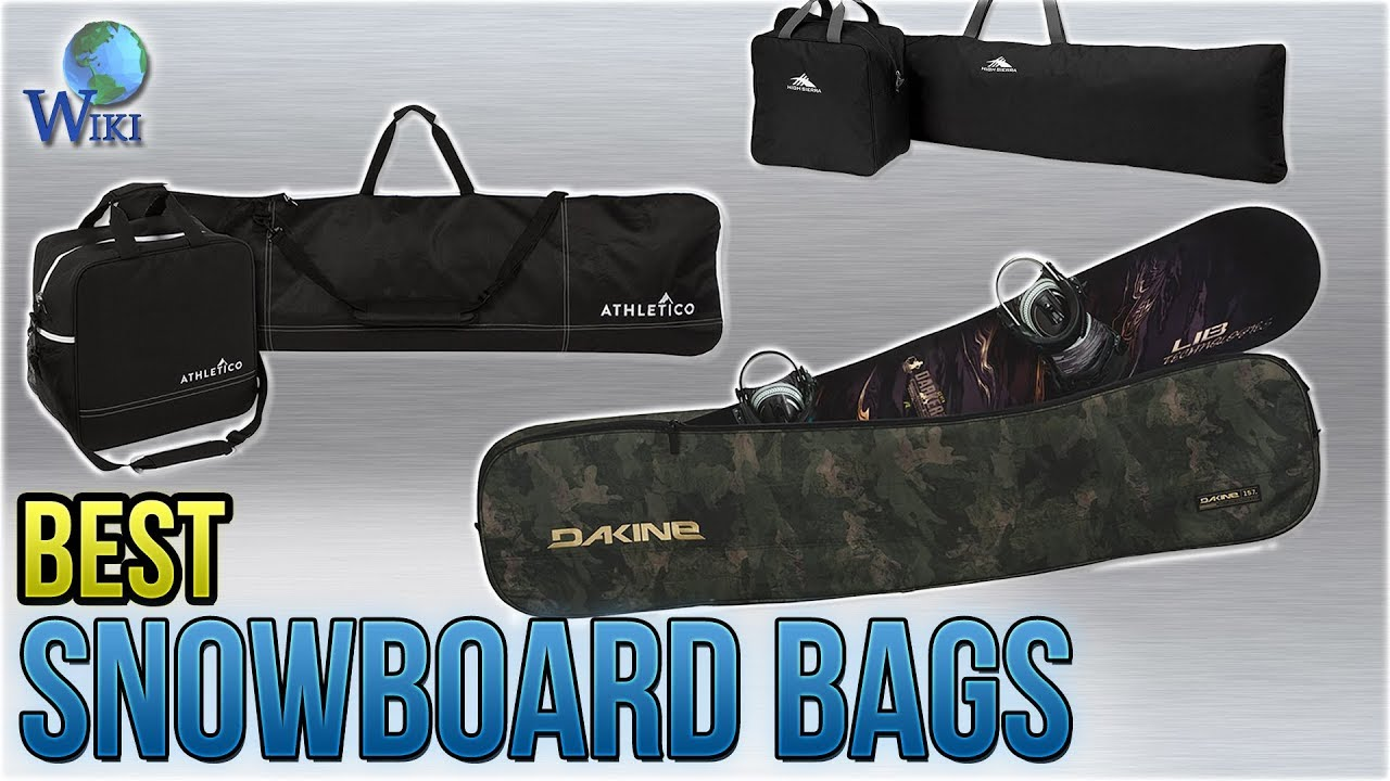 87eda33d92b9f Top 10 Snowboard Bags of 2019