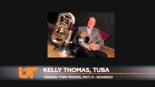 University of Tennessee School of Music Kelly Thomas performs Swann: Two Moods, MVT. II-Scherzo