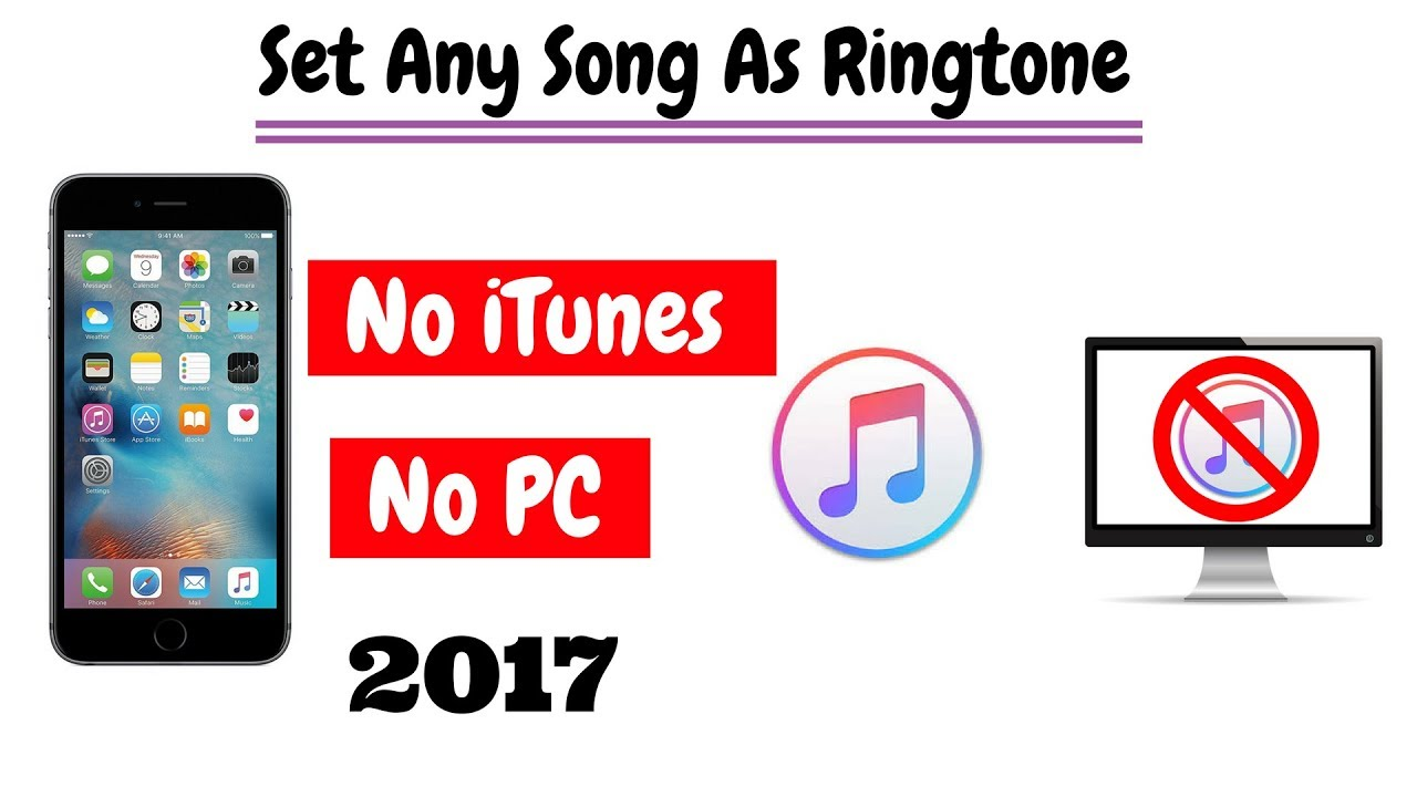 how to set a ringtone on iphone 6 without itunes or computer