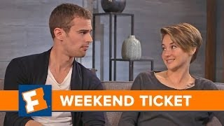 Divergent, Guest: Shailene Woodley, Theo James - Week of 3/17/14  | Weekend Ticket | FandangoMovies