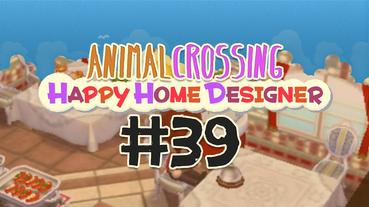 39 Hotel 2 3 Animal Crossing Happy Home Designer Youtube