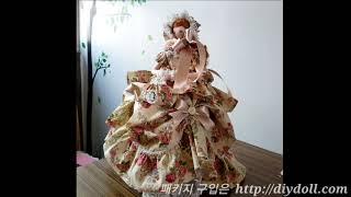 인형만들기 바느질 KIT 소개 드레스인형 엘리지아 집콕…