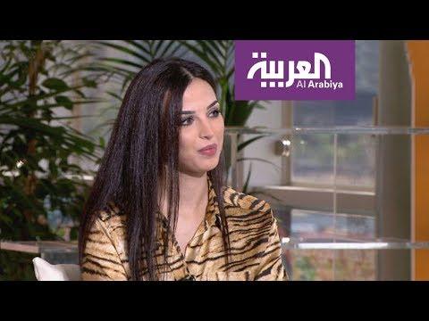 مذيعة أردنية في التلفزيون الدنماركي