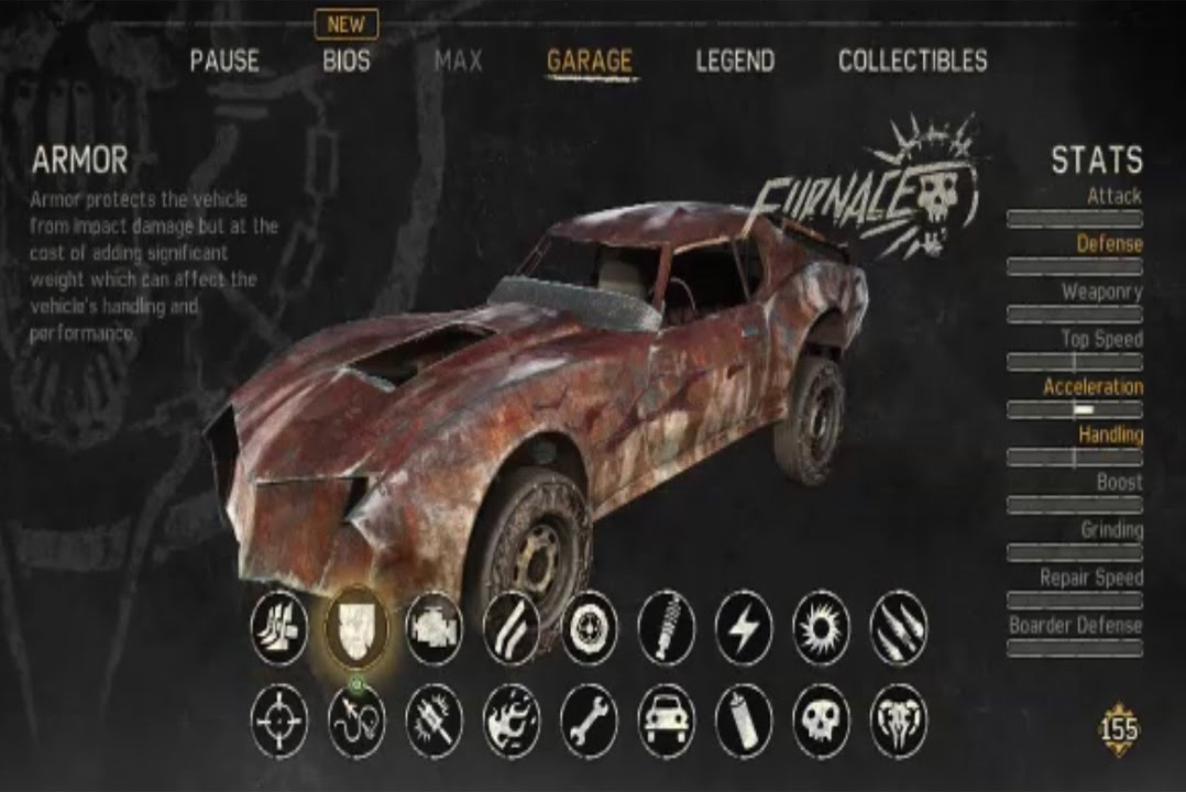 Mad Max Best Car Body To Get