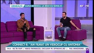 Connect-R Am filmat un videoclip cu Antonia
