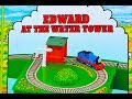 EDWARD AT THE WATER TOWER  - ERTL Miniature Adventure Playset Thomas Train Toy Review