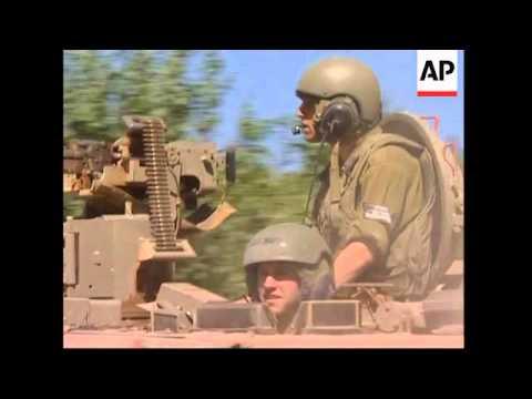 Israeli Tanks On Lebanon Border, Explosion, Soliders Return, Voxpop