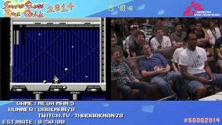 Summer Games Done Quick 2014 - Part 35 - Mega Man 5