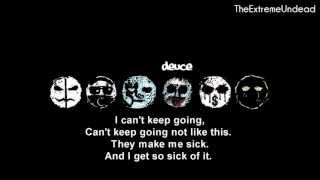 Hollywood Undead - Sell Your Soul [Lyrics Video] [OLD VERSION]