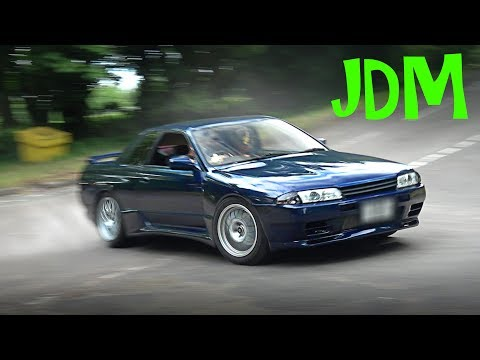 🔰 JDM Cars Leaving a Car Show – July 2017