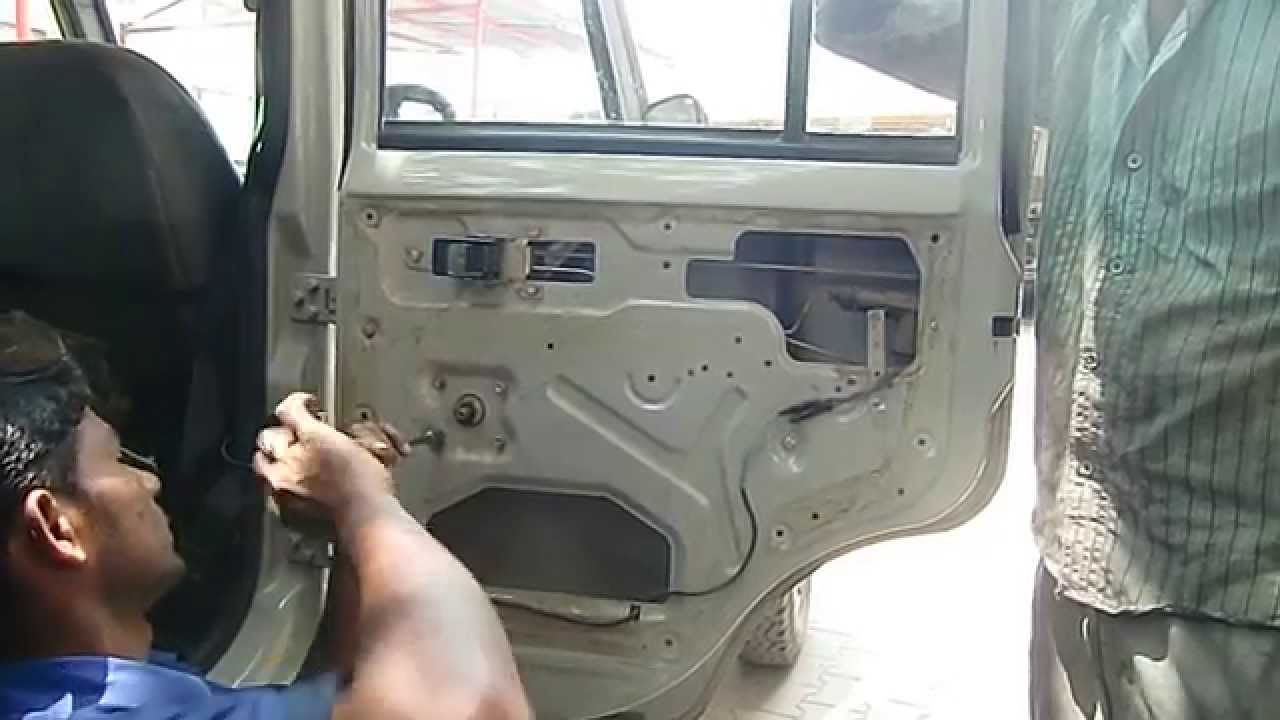 Mahindra Marshal How To Repair The Window Lifter Youtube
