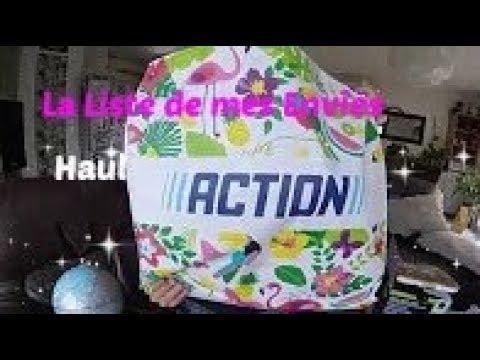 Haul Action Décembre 2017 Beauté Déco Noël Promos Youtube