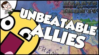 Hearts of Iron 4 HOI4 The Unbeatable Allies?!