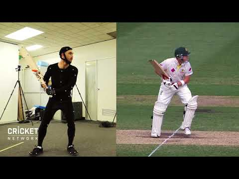 Glenn Maxwell imitating cricket legends