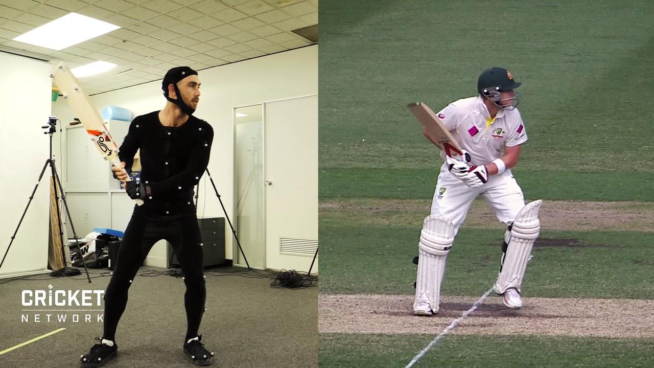 Glenn Maxwell imitating cricket legends