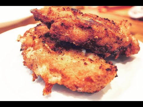 Fried Chicken Breast With Cheese