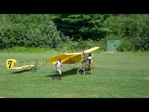 Antique Bleriot aircraft at Old Rhinebeck