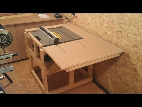 Dewalt table saw stand build part 2