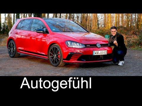 Volkswagen VW Golf GTI Clubsport FULL REVIEW test driven 265 hp Autobahn special - Autogefühl