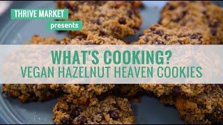 How to Make Vegan, Gluten-Free Chocolate Chip Hazelnut Nutella Cookies (Recipe)