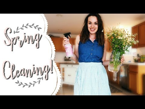 Clean & Decorate With Me! (for SPRING 2018)