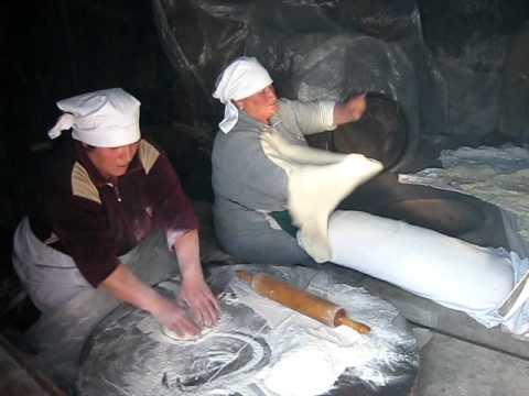 Virtuous Bread learns how to make Lavash (Armenian Flat Bread) in Armenia
