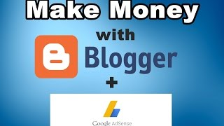 In this video i am going to show you how make a simple blog on blogger and money with it. guide is specially created for the beginners. will b...