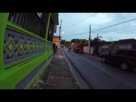 Cruising the streets in Puerto Rico