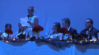 Emotional Matron Of Honor Speech - Coronado Theater