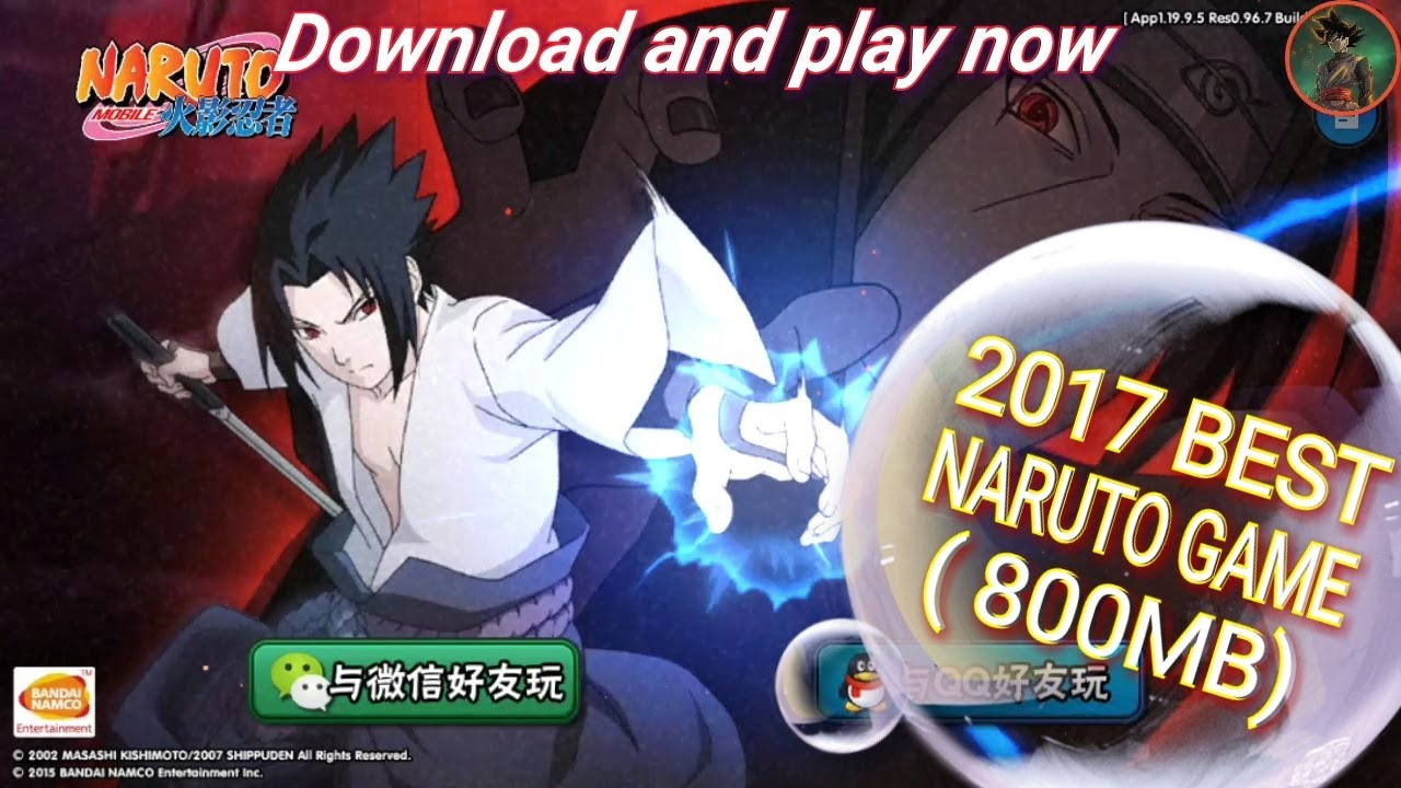 NARUTO MOBILE 2017 brand new game HD 3D latest game Now available on Android  YouTube