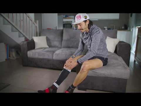 How to put on & off your COMPRESSPORT R2v2 Compression Calf Sleeves
