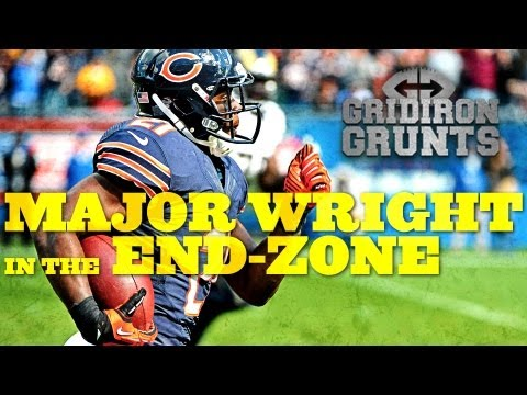 Chicago Bears Safety Major Wright