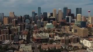 Calgary Drone Visits - Surreal Skies Footage
