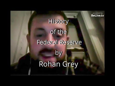 History of the Federal Reserve by Rohan Grey