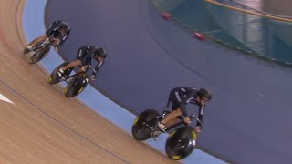 men s team sprint gold finals track cycling world championships   london england