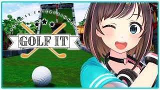 【Golf It】ゴルフゲーム実況に初挑戦!見事ホールインワン達成できた件について!