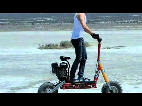 All Terrain Scooter American Made 4 Stroke Ohv Youtube