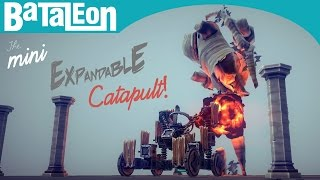 Besiege - The Mini Expandable Catapult!