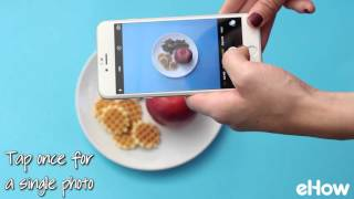 Shoot Photos in Burst Mode on an iPhone