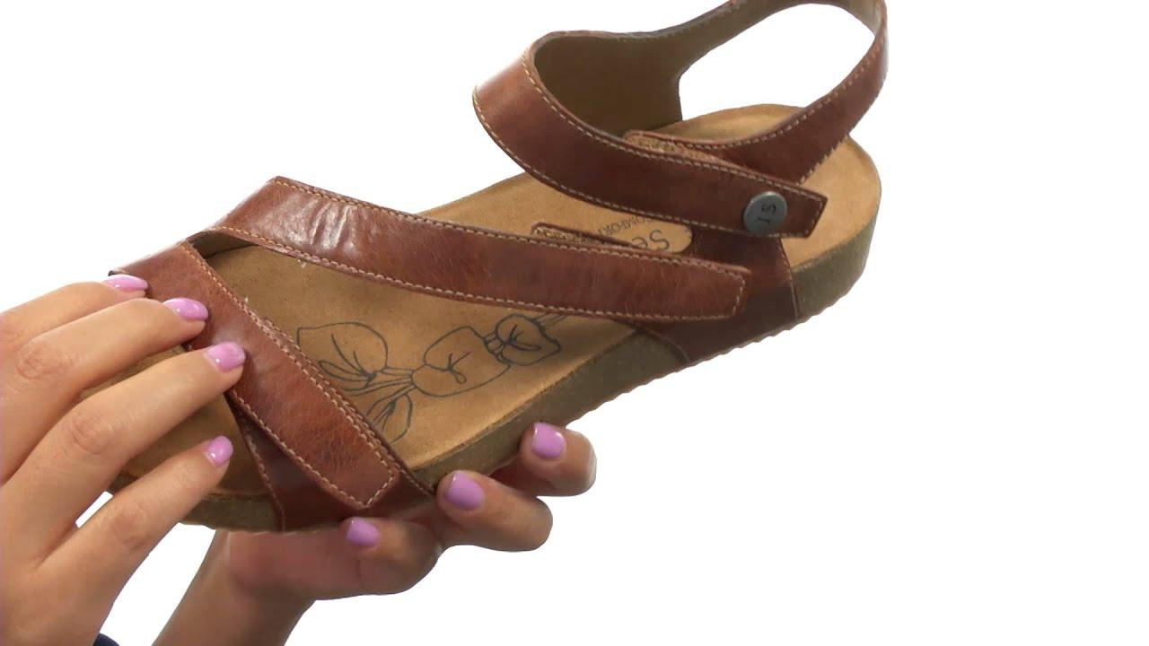 Josef Seibel Women's 'Tonga' Leather Sandal Y8Viqu