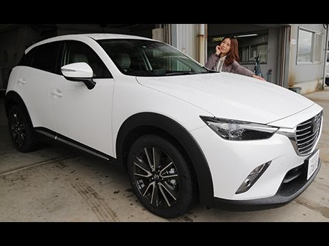 Mazda Cx 3 >> マツダ cx-3 【女性レポーターが試乗 Vol.25】XD Touring L Package - YouTube