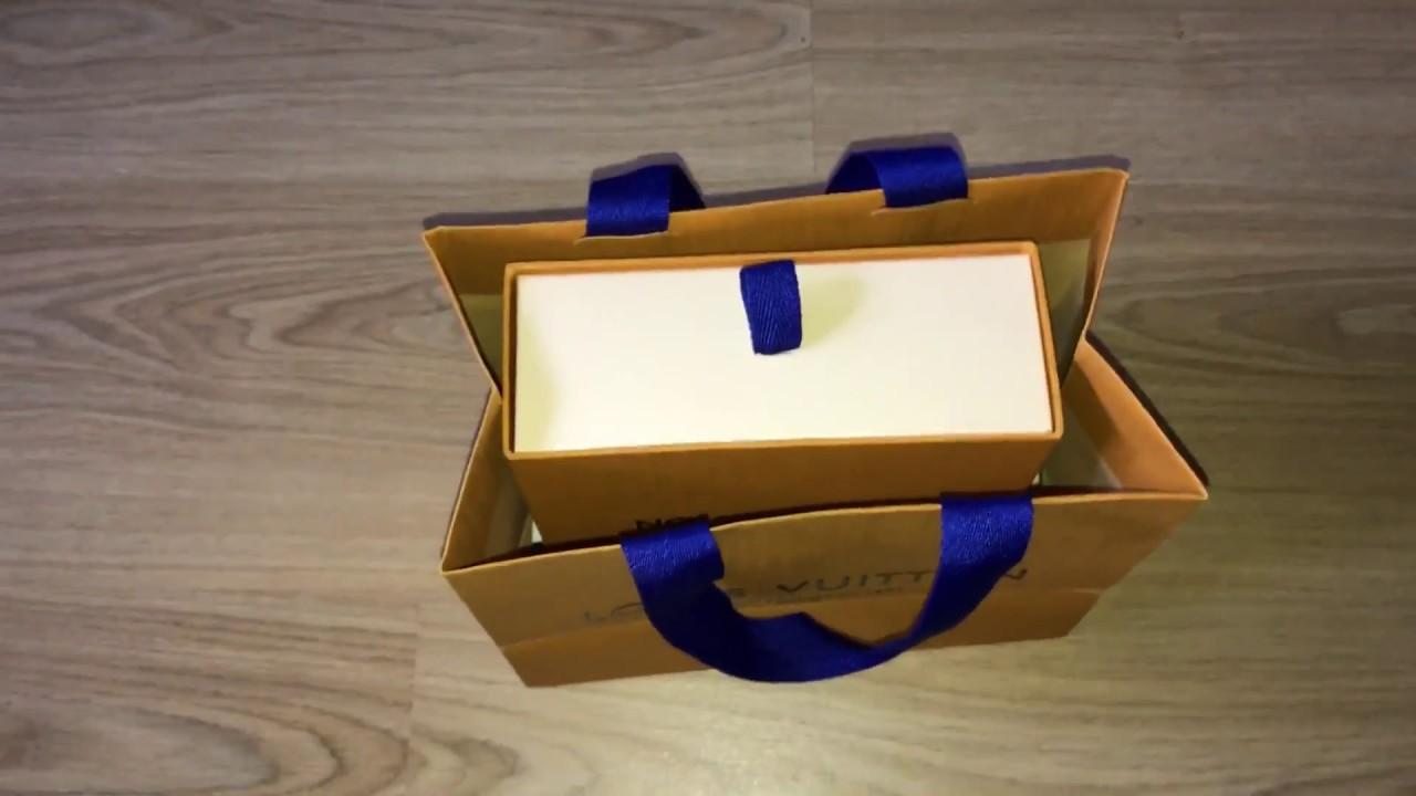 a8730da8a40 600 Louis Vuitton belt unboxing - YouTube