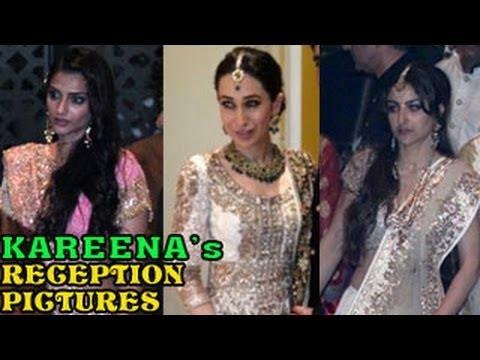 Saif Ali Khan Kareena Kapoors GRAND WEDDING RECEPTION PICTURES NEWS