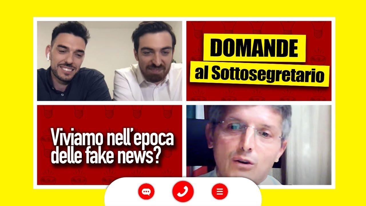 Viviamo nell'epoca delle Fake News? Le vostre e nostre domande al Sottosegretario all'Informazione